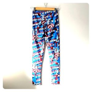 👽3/$25 Captain America leggings
